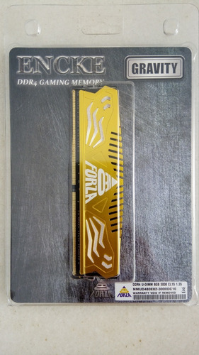 Memória Ram Gamer Encke Ddr4 8gb 3000mhz Cl15 P/ Pc Garantia