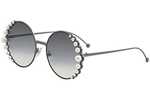 6c401bc903 Gafas De Sol Fendi Para Mujer Con Montura Redonda En Perlas, - $ 9,144.69  en Mercado Libre