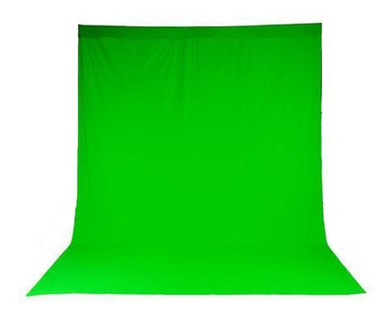 Tecido Chroma Key Para Uso Retratil Ou Esticado 1,90x9,00mts