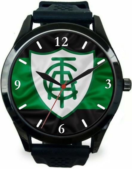 Relógio Pulso América Mineiro Masculino Personalizado Barato