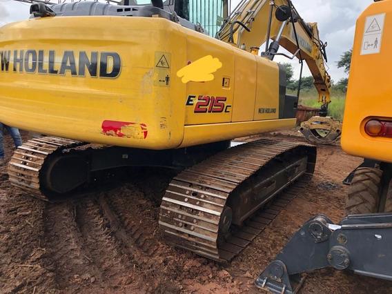 Escavadeira Hidráulica New Holland E 215 C