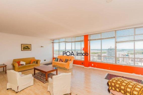 Apartamento Com 4 Dormitórios À Venda, 240 M² Por R$ 950.000 - Centro - Porto Alegre/rs - Ap2546