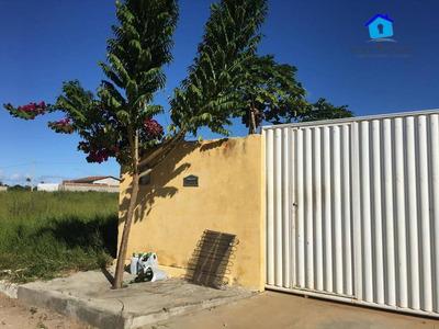 Casa Com 2 Dormitórios À Venda, 108 M² Por R$ 190.000 - Loteamento Bela Vista - Conde/pb - Ca0475