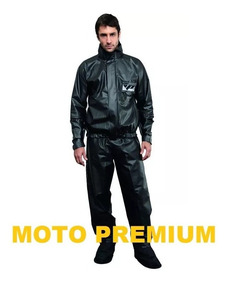 Conjunto Capa De Chuva Pantaneiro Luxo Motoqueiro Moto Boy