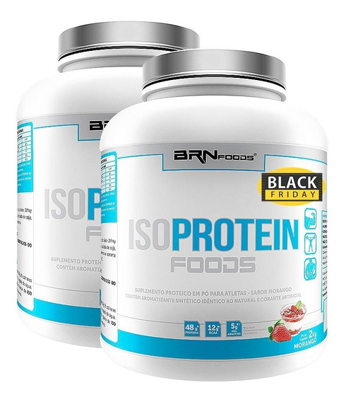 Combo 2x Iso Protein 2kg - Brn Foods