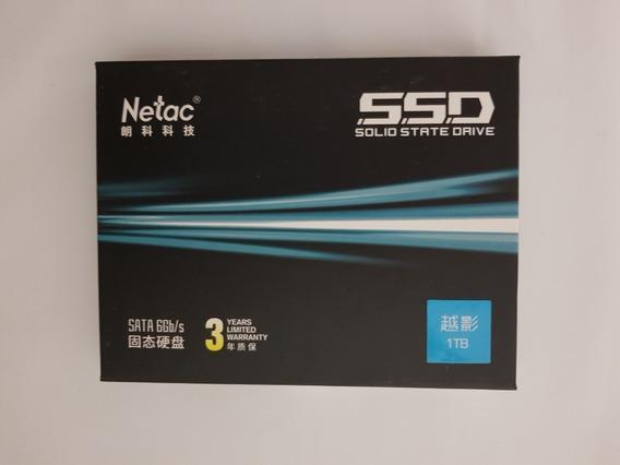 Ssd Netac 1 Tb (1000gb) Aluminio, Ultra Rápido, Gatantia 3