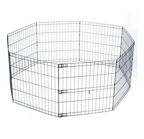 Corral Para Perros Y Mascotas Octagonal Plegable Modelo S
