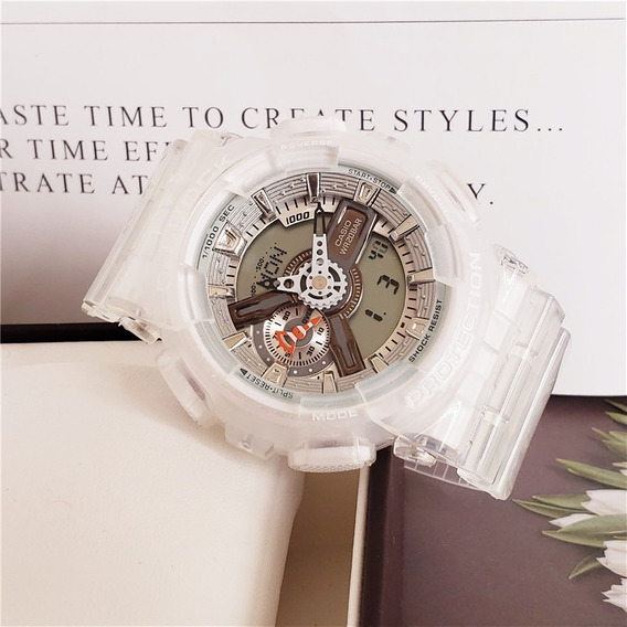 Reloj Casio G-shock Ga110 Transparente