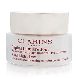 Clarins Vital Light Day Iluminador Antienvejecimiento Comfor