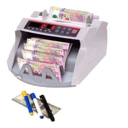 Contadora Billetes Maquina Cuenta Dinero Detector Euro Dolar