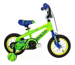 Bicicleta De Niño Philco Patio Rodado 12