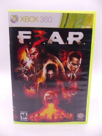 Fear 3 Xbox 360 Original Mídia Física