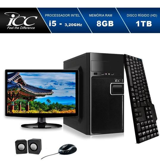 Computador Intel Core I5 3.20 Ghz 8gb Hd 1tb Windows 10