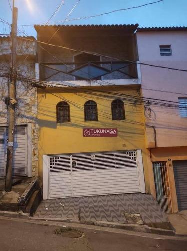 Sobrado Com 3 Dormitórios À Venda Por R$ 320.000,00 - Jardim Arapongas - Guarulhos/sp - So1126