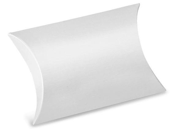 250 Cajas Blancas Tipo Almohadilla De 11.43 X 11.43 X 3.81