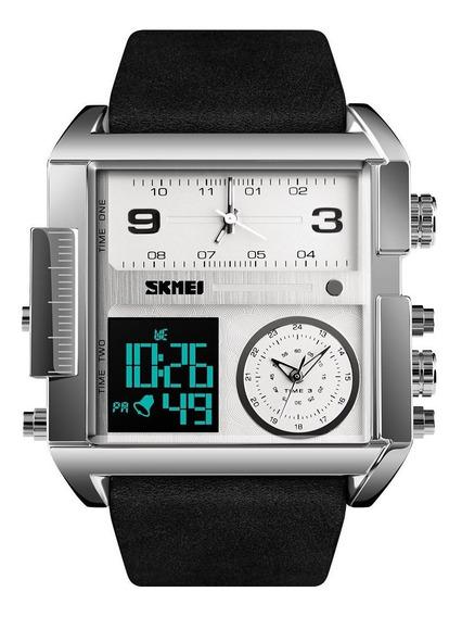 Reloj Hombre Militar Skmei 1391 Digital Led Cuarzo Analogo