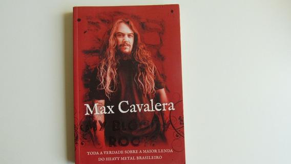 Livro Max Cavalera My Bloody Roots.