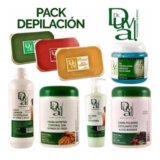 Pack Profesional Gabinete Depilacion Dr Duval Ceras Ge