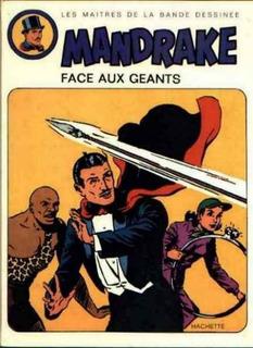 França 1973 Hq Quadrinhos Mandrake Face Aux Geants Capa Dura