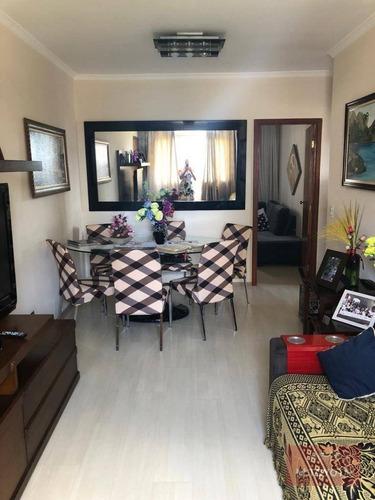 Apartamento Com 2 Dormitórios À Venda, 62 M² Por R$ 300.000,00 - Vila Augusta - Guarulhos/sp - Ap0141