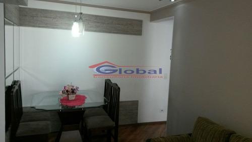 Venda Apartamento - Vila Homero Thon - Santo André - Gl37686