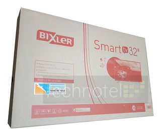 Smart Tv 32 Hd Hdmix3 Usbx2 1366x768px Bixler Nuevo
