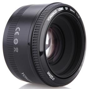 Lente F1.8 50mm Yongnuo Canon Para Câmeras