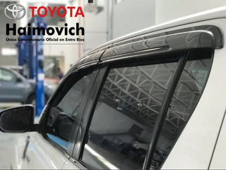Deflectores Laterales Originales Toyota Hilux 2016+