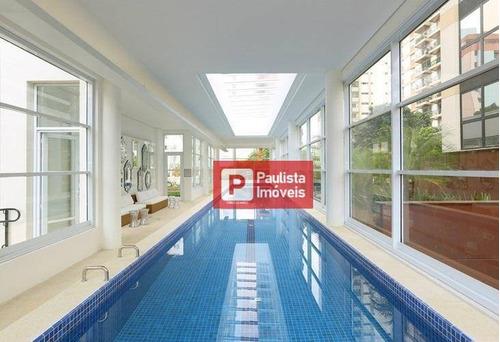 Apartamento Para Alugar, 35 M² Por R$ 3.300,00/mês - Brooklin Paulista - São Paulo/sp - Ap30173