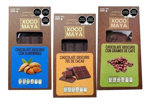 Imagen 1 de 6 de 3 Pack Barras De Chocolate Xoco Maya
