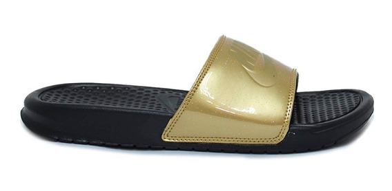 Sandalias Nike Sandalia Benassi Jdi Print Dorado