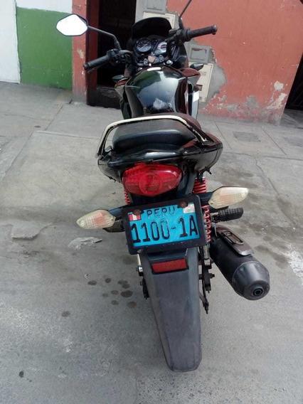 Moto Honda Cbf 125 Negra