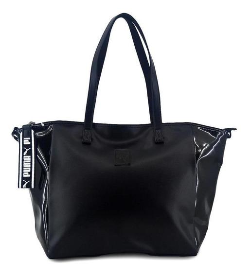 Bolso Puma Mujer Large Shopper Talle: Un - Color: Negro
