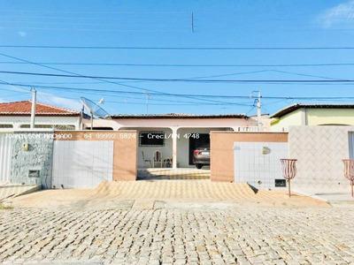 Casa Para Venda Em Açu, Conj Janduís/cohab - Casa Em Via Pública, 3 Dormitórios, 2 Suítes, 3 Banheiros, 2 Vagas - Cas1079-casa Em Assú/rn