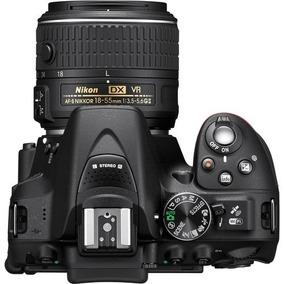 Câmera Nikon Dslr D5300 Com Lente 18-55-gps-wifi