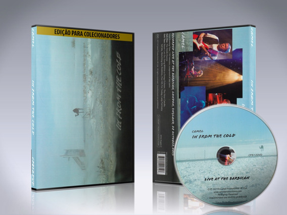 Dvd Camel - In From The Cold 2014