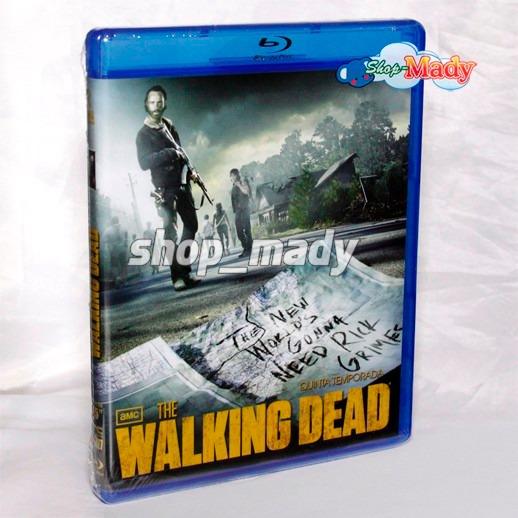 The Walking Dead Quinta Temporada Blu-ray Disc