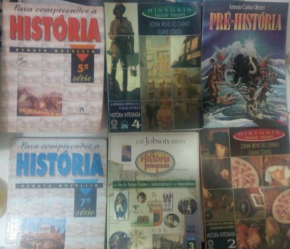 6 Livros De História