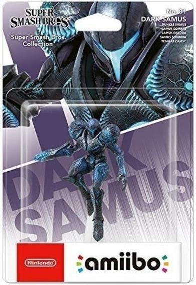 Amiibo Dark Samus Switch Wiiu 3ds 2ds