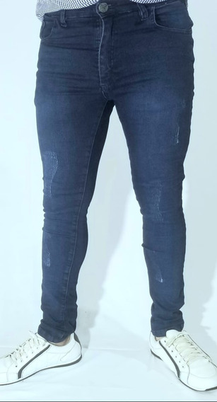 Pantalon Jeans Con Rotura Elastizado. Tienda Oficial Vrusko