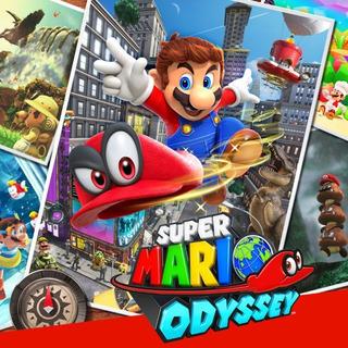 Super Mario Odyssey Digital North America