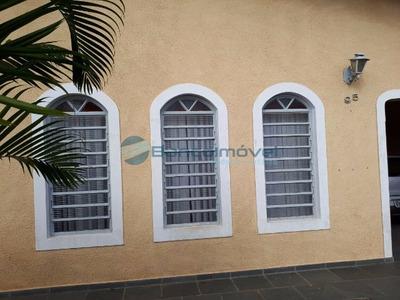 Casa Residencial Em Campinas - Sp, Vila Lemos - Ca01037