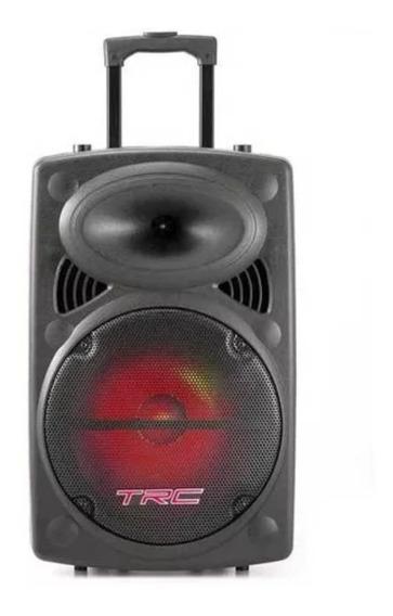 Caixa Amplificada De Som Bluetooth 350w Trc 436 - Promoção