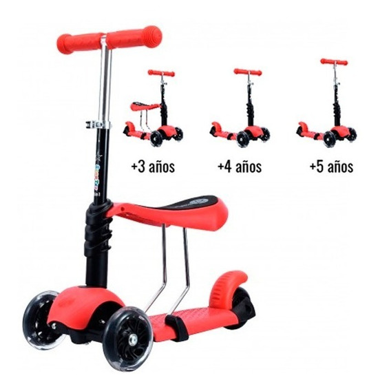 Pata Pata Monopatin Scooter Love 7820 Freno 3 Ruedas Promo