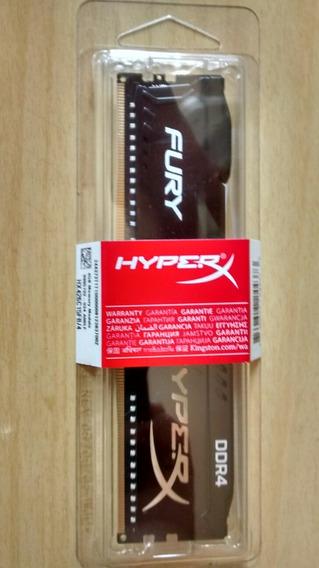 Memoria Kingston Hyperx Fury 4gb 2666mhz Ddr4 Black