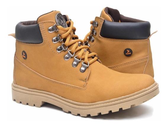 Bota Masculina Eco Canyon - Worker Boot Inverno Natureza