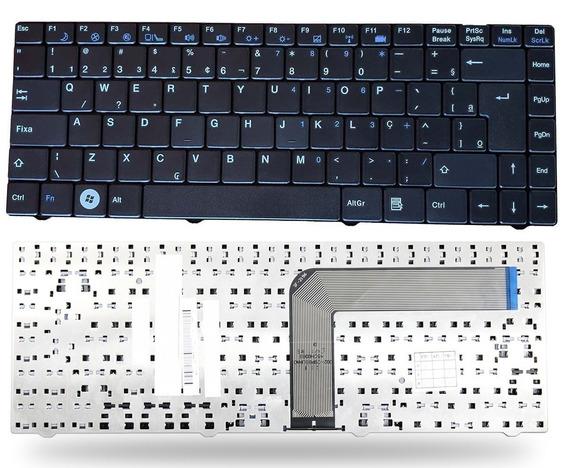 Teclado + Carregador Para Notebook Positivo Sim+ 4155