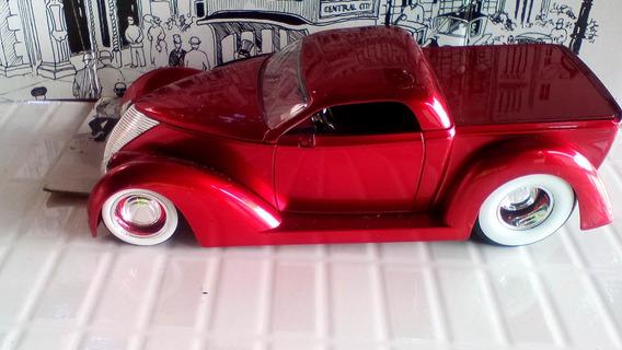 Miniatura Pickup Ford 1937 D Rods Jada 1/24 *leia*