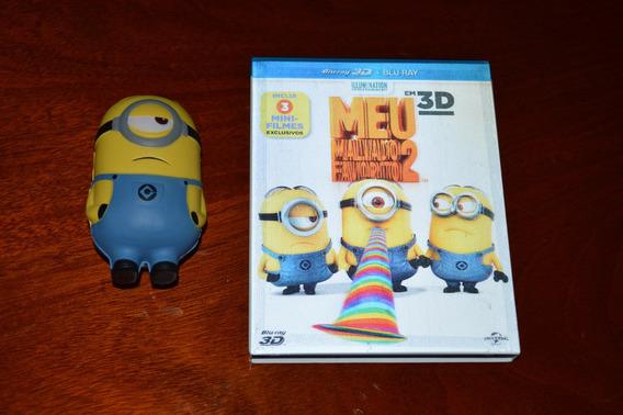 Meu Malvado Favorito 2 - Blu-ray + Blu-ray 3d + 1 Minion