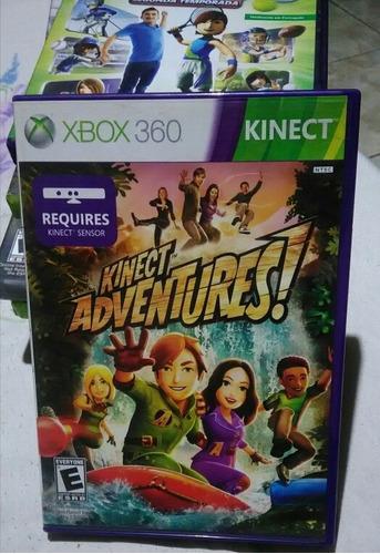Jogo Xbox 360 Original Semi-novo Kinect Adventures